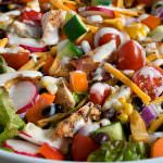 Ranch Chicken Chopped Salad