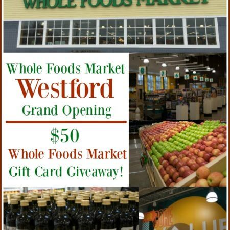 Westford Whole Foods Market Grand Opening & $50 Whole Foods Market Gift Card Giveaway - A Family Feast