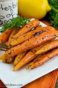 Carrots with Herbes de Provence - A Family Feast