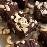 Cashew Frosted Brownies