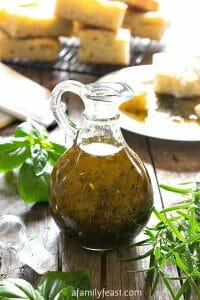 Herb-Infused Oil - A Family Feast