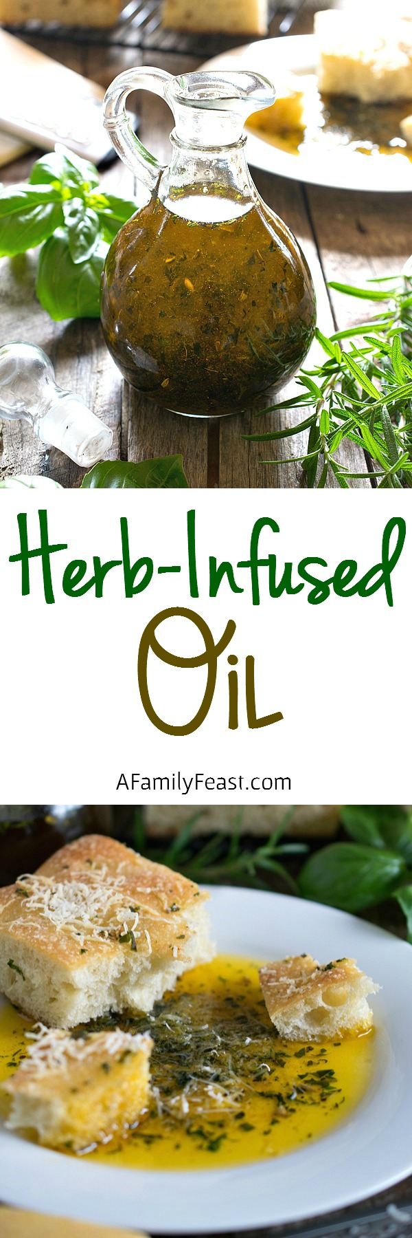 Herb-Infused Oils - Easy to make and versatile. Use as a dipping sauce or for cooking.