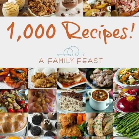 1000 Recipes - A Family Feast