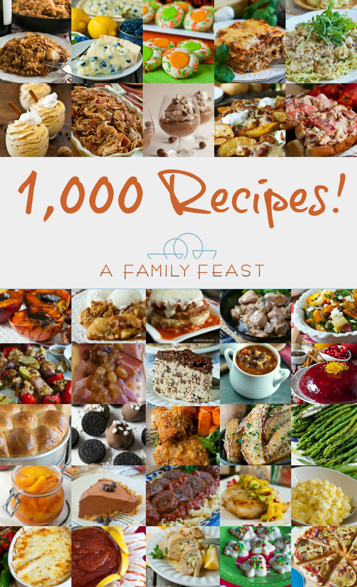 1000 Recipes - A Family Feast