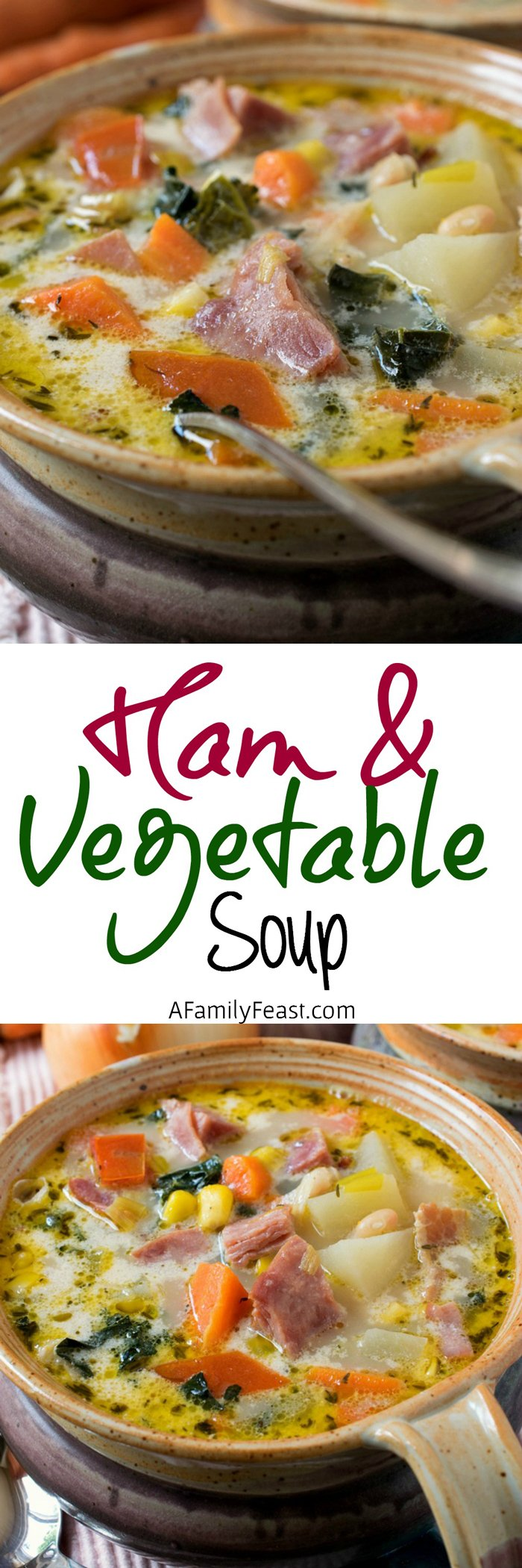 Ham And Vegetable Soup A Delicious Soup Perfect For Using Up A Leftover Ham