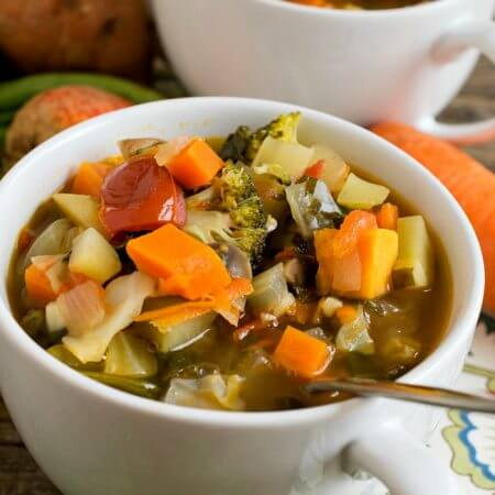 Hearty Vegetable Soup - A Family Feast