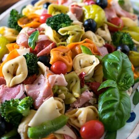 Italian Tortellini Salad - A Family Feast