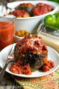 Nanny's Italian Stuffed Peppers - A Family Feast