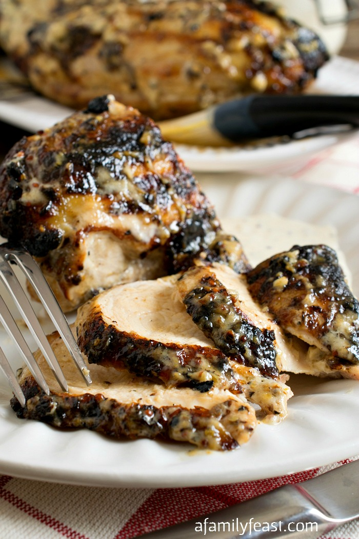 This White Barbecue Chicken is sure to become a new crowd favorite at your summer cookouts!