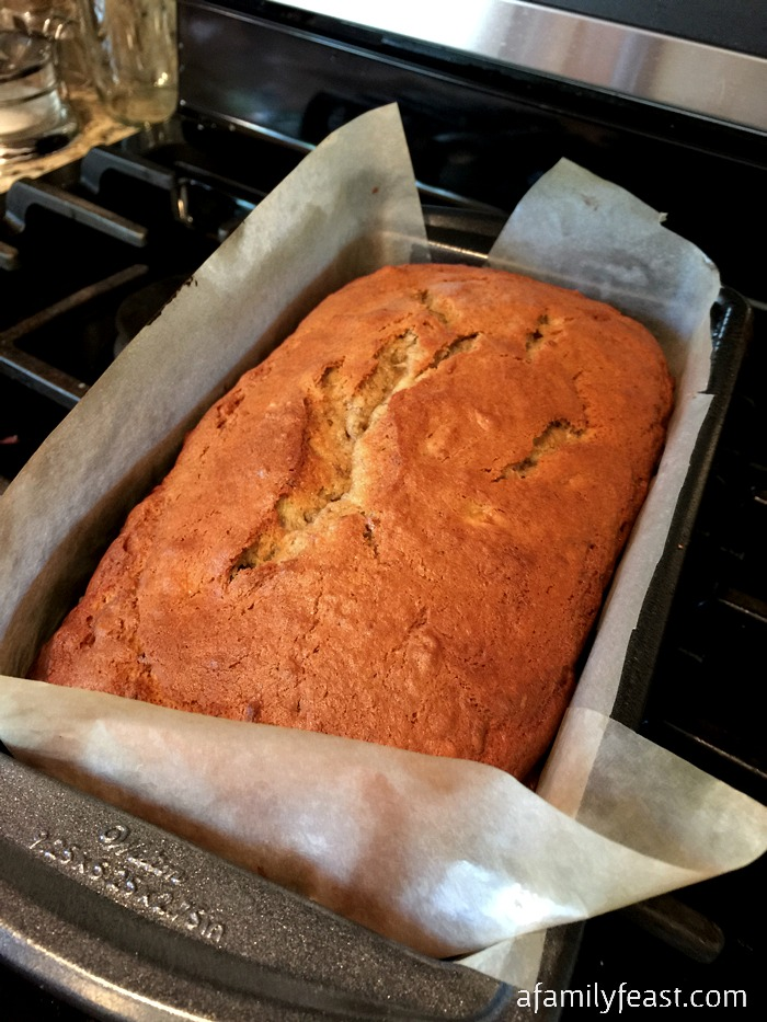 Best Ever Banana Bread - A Family Feast