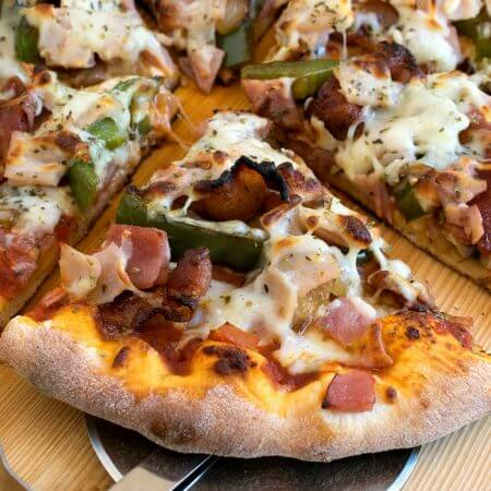 Easy Meat Lover's Pizza - A Family Feast