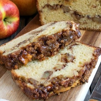 Apple Streusel Bread - A Family Feast