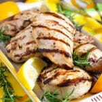 Citrus Grilled Chicken - A Family Feast