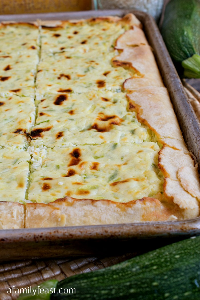 Lidia's Rice and Zucchini Crostata - A Family Feast