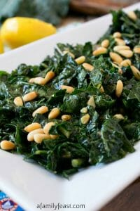 Massaged Kale - A Family Feast