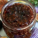 Small Batch Fig Jam - A Family Feast