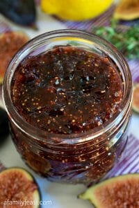 Small Batch Fig Jam - A Family Feast
