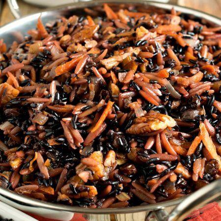 Forbidden Rice Pilaf - A Family Feast