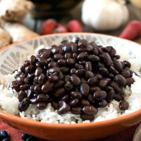 Filipino Beans and Rice - A Family Feast