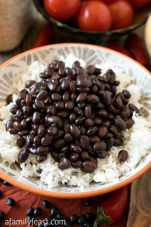 Filipino Beans and Rice - A Family Feast®