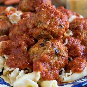 Pork Meatballs with Currants - A Family Feast