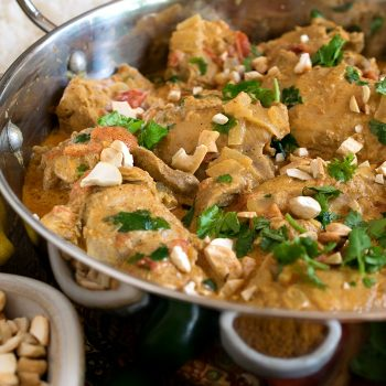 Chicken with Vindaloo Spices - A Family Feast