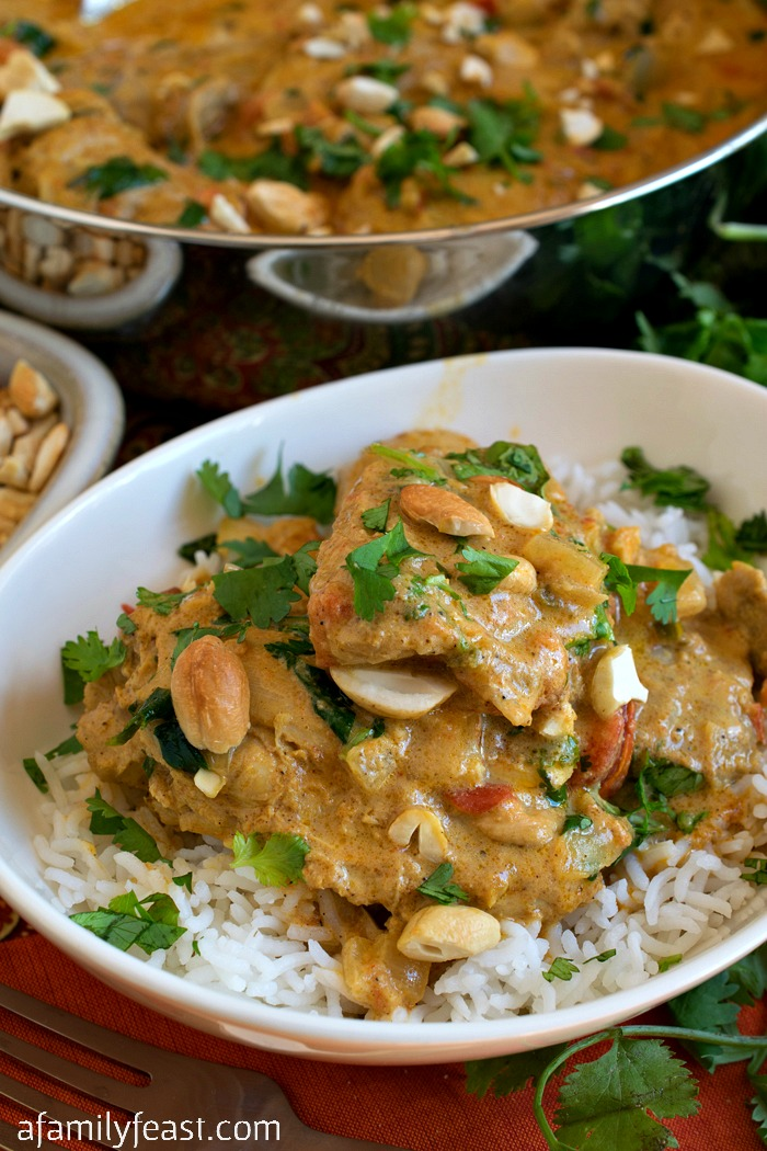 Chicken with Vindaloo Spices - Fantastic flavors in this creamy, zesty dish will have your taste buds singing!