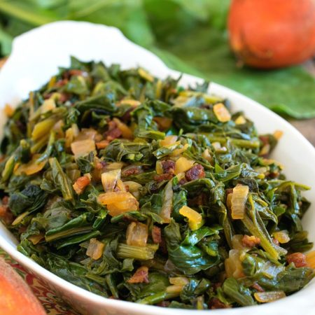 Sautéed Beet Greens - A Family Feast