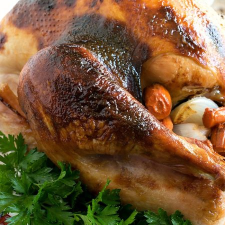 Maple Cider Glazed Turkey - A Family Feast
