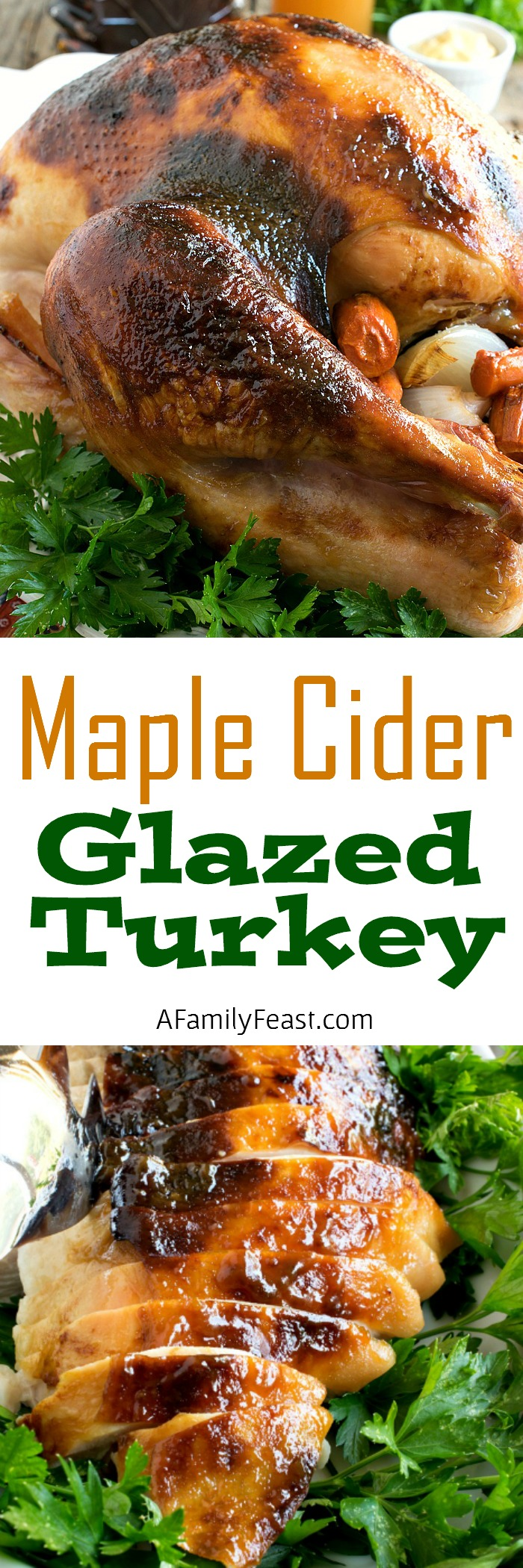 This Maple Cider Glazed Turkey is so delicious it just might become ...