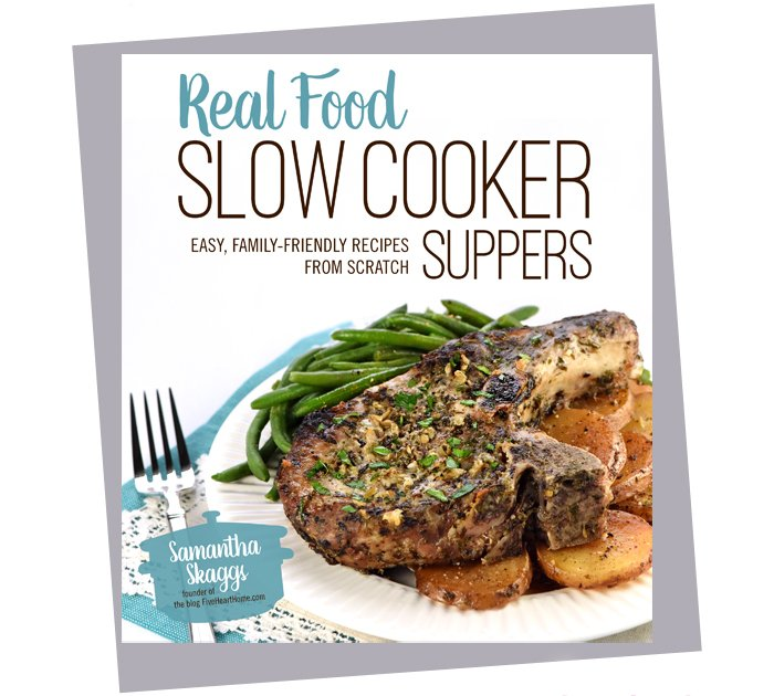 Real Food Slow Cooker Suppers - Cookbook Review - A Family Feast