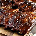 Slow Cooker Honey-Garlic Baby Back Ribs