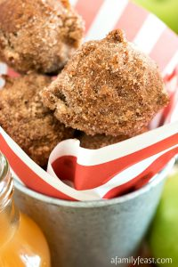 Apple Cider Doughnut Holes - A Family Feast