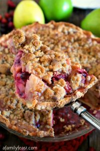 Fall Fruit Pie - A Family Feast