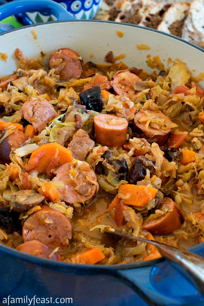 Bigos (Polish Hunter's Stew) - A Family Feast