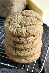 Brown Sugar Cookies - A Family Feast