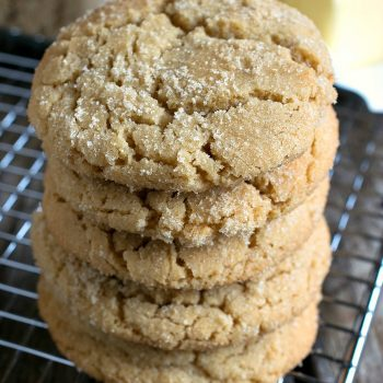 Brown Sugar Cookies - A Family Feast