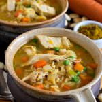 Curried Turkey and Rice Soup