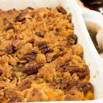 Ginger Maple Sweet Potato Casserole - A Family Feast