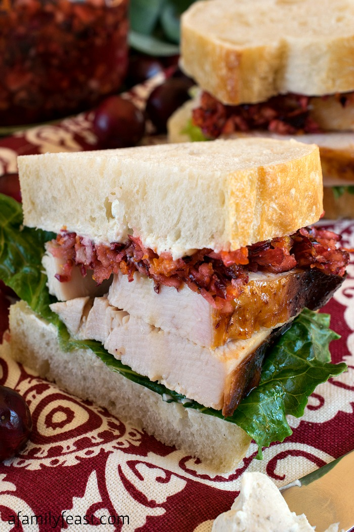 Myles Standish Sandwich - A Family Feast