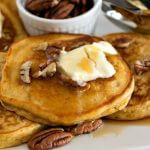 Sweet Potato Pancakes - A Family Feast