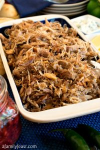 Zesty Pulled Turkey - A Family Feast