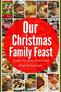 Our Christmas Family Feast - A Family Feast