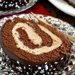 Malted Mocha Swiss Roll - A Family Feast