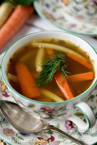 Holiday Chicken Soup - A Family Feast