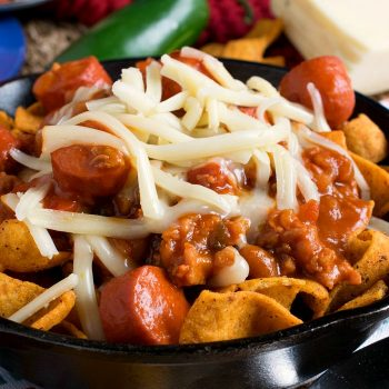 Corn Chip Chili Bowl - A Family Feast
