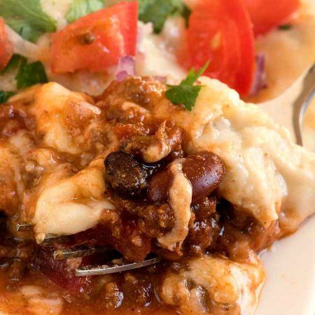 Chili Cheese Enchiladas - A Family Feast