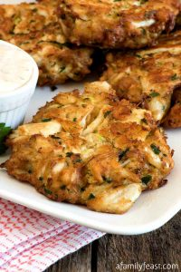 Crab Cakes - A Family Feast