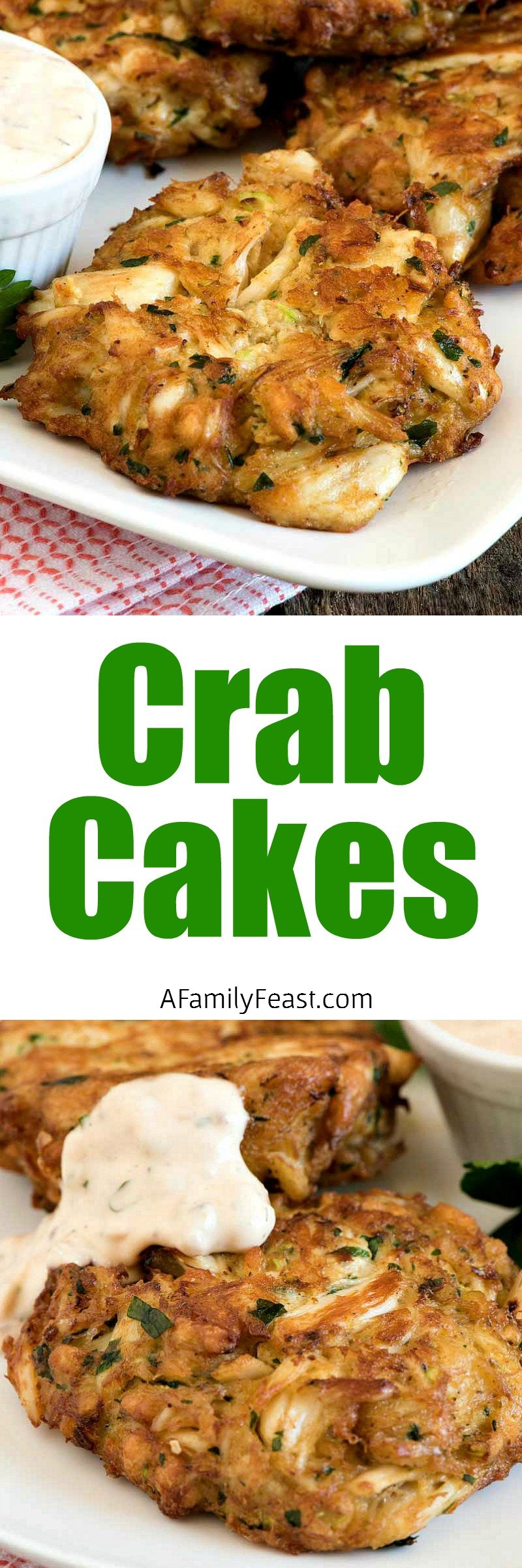 Easy Crab Cakes Recipe Video A Family Feast