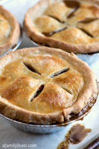 Individual Beef Pot Pies - A Family Feast